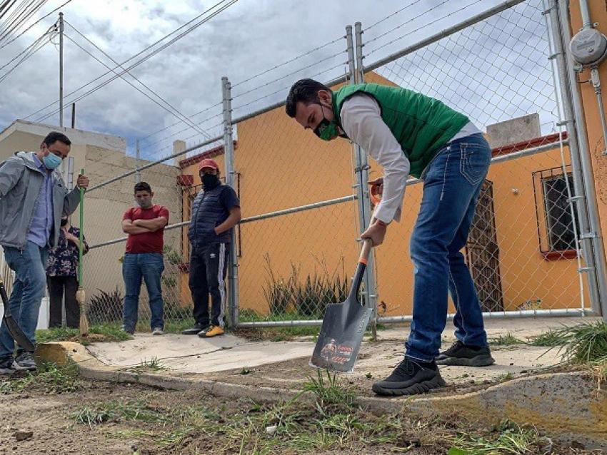 Más áreas para nuestros hijos, en un increíble proyecto de recuperación de espacios públicos en Mineral de la Reforma.