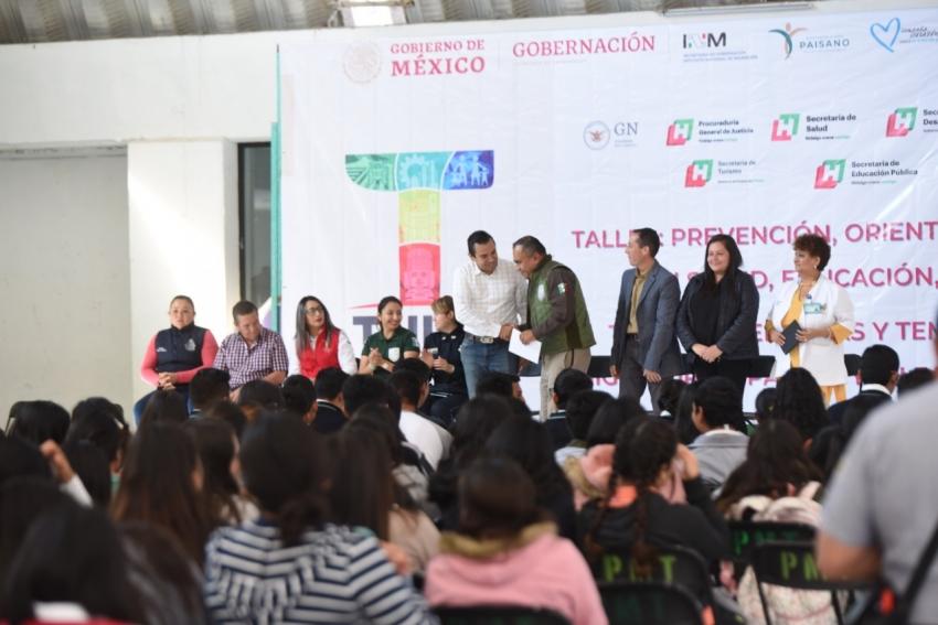 Vinculación institucional sobre salud, educación y trata de personas