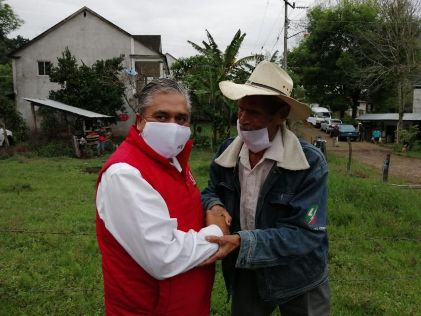 AGUSTÍN RAMÍREZ PLANTEA PROYECTOS DE CUIDADO AL MEDIO AMBIENTE