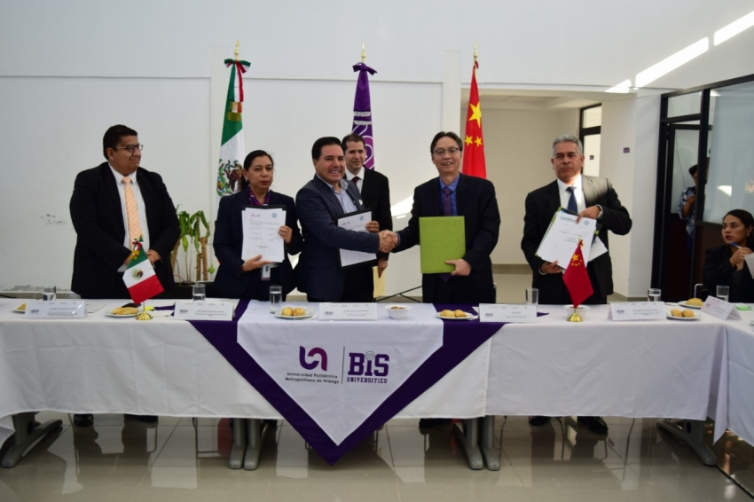 UPMH Y UTSH FIRMAN CONVENIO DE COLABORACIÓN CON UNIVERSIDAD DE CHINA