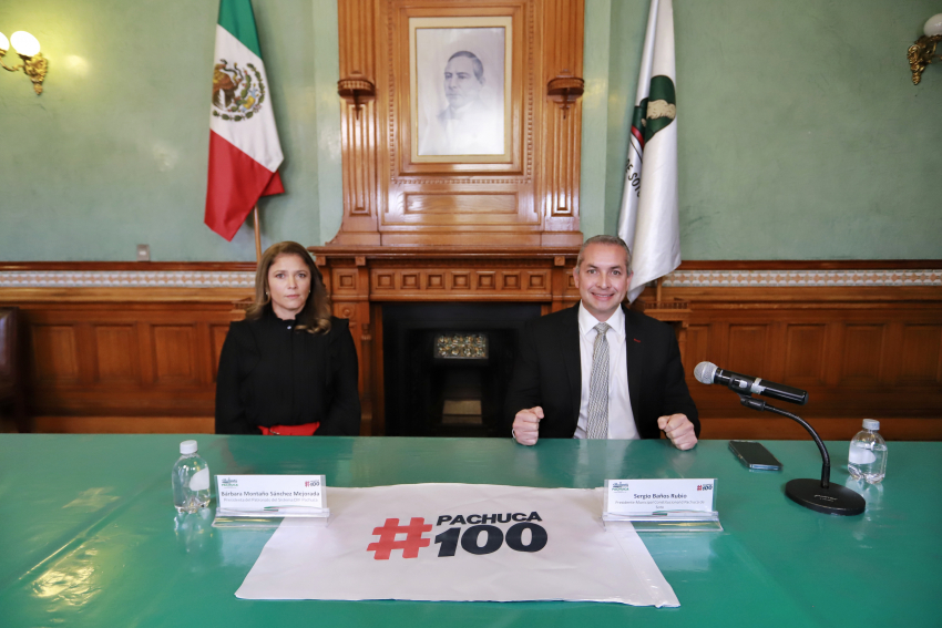 Lanzan plataforma digital #Pachuca100