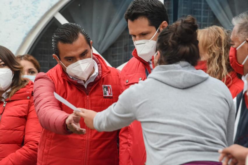 ALEJANDRO ÁLVAREZ SE COMPROMETIÓ A ATENDER EL DESARROLLO DE LA INFRAESTRUCTURA EN CADA RINCÓN DEL MUNICIPIO.