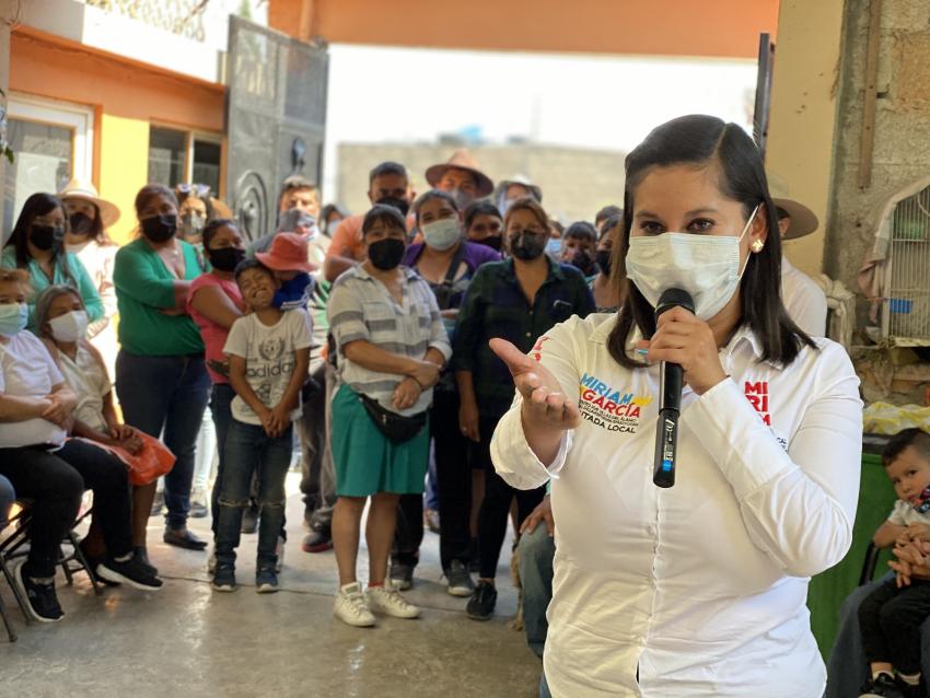 MIRIAM GARCÍA PIDE ERRADICAR LA VIOLENCIA HACIA LA NIÑEZ
