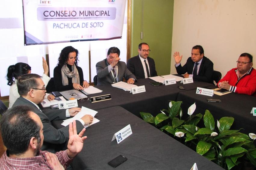 IEEH inicia instalación de los 84 Consejos Municipales Electorales.