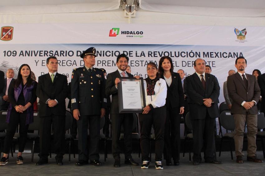 ENCABEZA  EL TITULAR DE LA SEPPE CONMEMORACIÓN  DEL 109 ANIVERSARIO DE LA REVOLUCIÓN MEXICANA