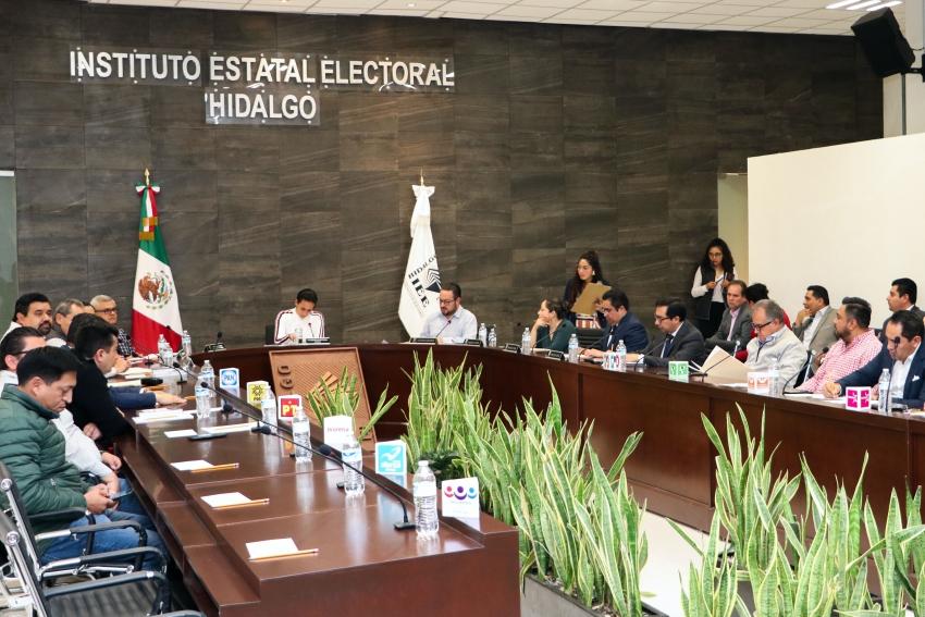 IEEH resuelve últimas manifestaciones de intención de aspirantes a Candidaturas Independientes.
