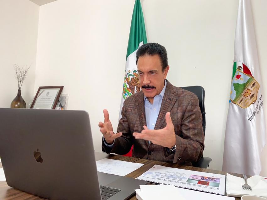 Propone Fayad Cartilla de Vacunación Biométrica ante conago