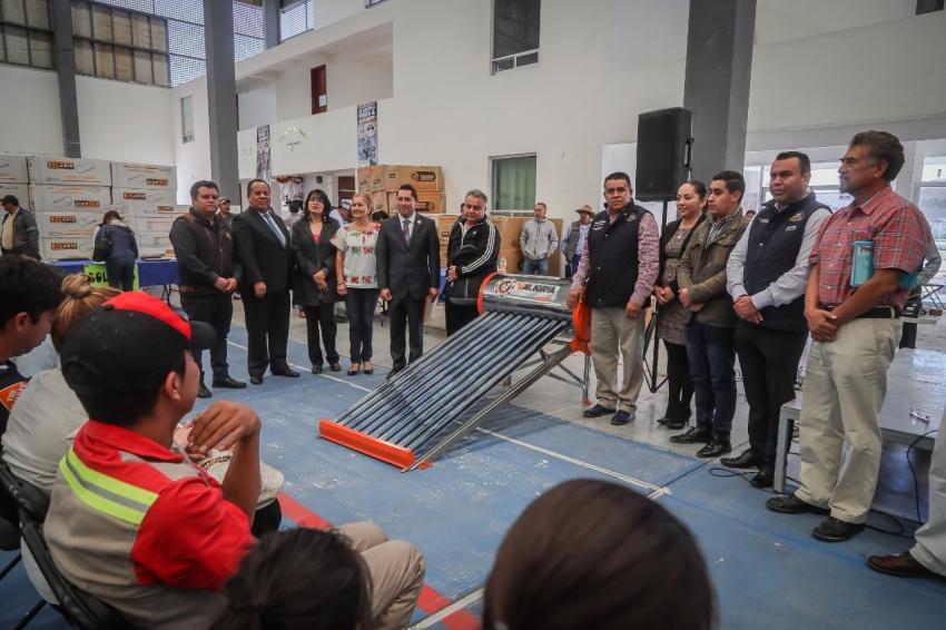 OFRECE MINERAL DE LA REFORMA CALENTADORES SOLARES A BAJO COSTO 2020