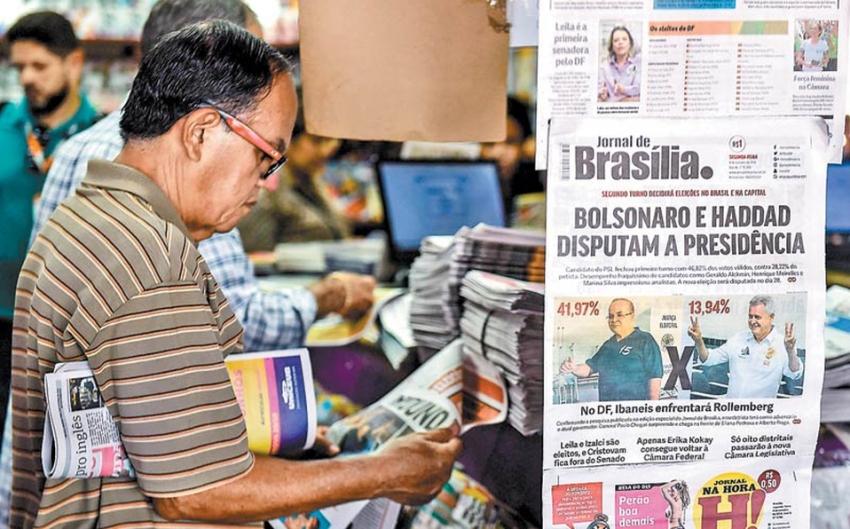 Ola militar 'asalta' las elecciones de Brasil