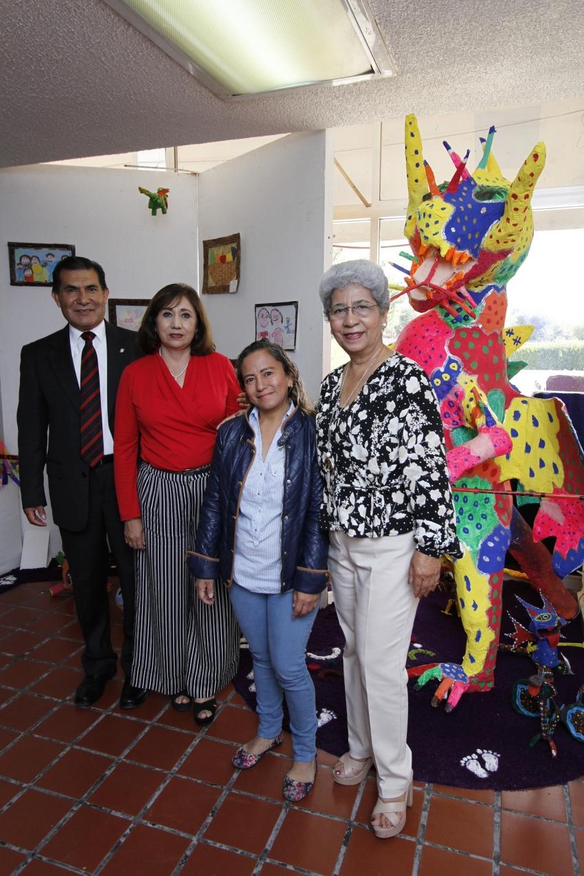 EXPOSICIÓN DE ALEBRIJES ELABORADOS POR ESTUDIANTES DE PREESCOLAR