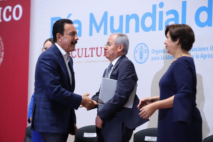 RATIFICA HIDALGO FRENTE COMÚN CON FAO Y GOBIERNO FEDERAL  PARA COMBATIR EL HAMBRE