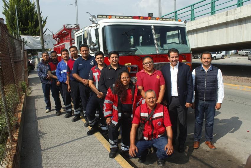 Servir a la población de Tula, es la mayor satisfacción para bomberos