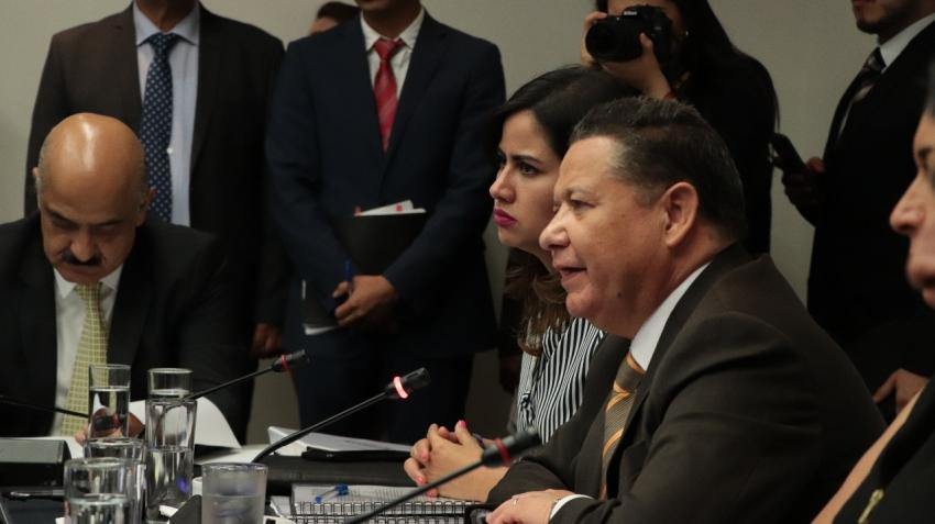Julio Menchaca Salazar adelanta que se presentará el dictamen de la Ley Nacional de Extinción de Dominio