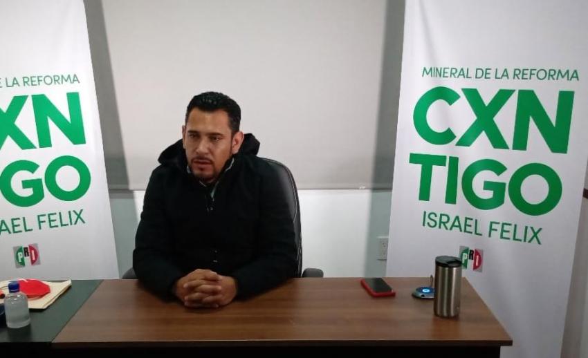 Atacan al candidato del PRI en Mineral de la Reforma.