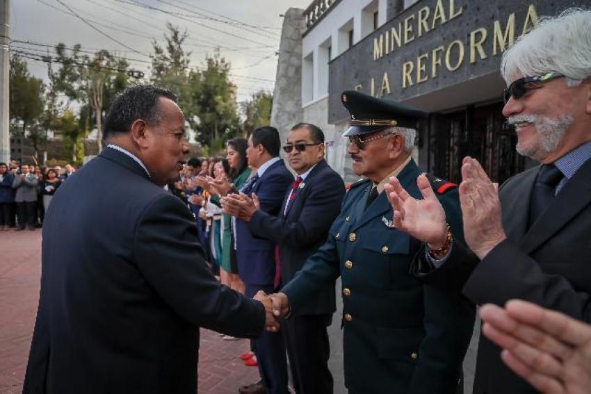 CONMEMORA MINERAL DE LA REFORMA, 172 ANIVERSARIO DE LA GESTA HEROICA DE LOS NIÑOS