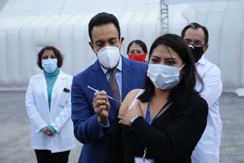 Inicia el periodo de vacunación contra la influenza A-H1N1 temporada 2020-2021