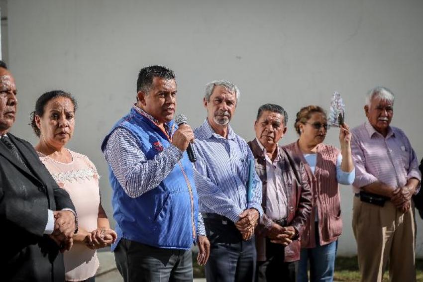 INAUGURA MINERAL DE LA REFORMA PAVIMENTACIÓN DE CONCRETO EN EL CHACÓN